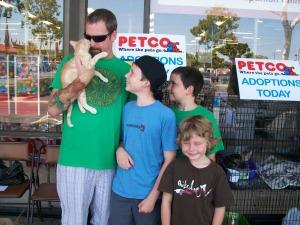 Petco adoption event MeoowzResQ