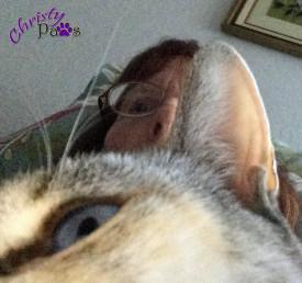Mom in selfie