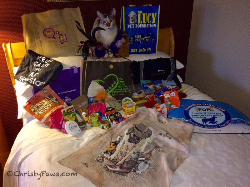 BlogPaws swag