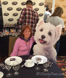 Cesar dog food at BlogPaws Nashville
