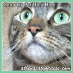 CaturdayArtBannerfor Blog Hop