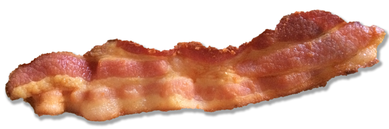 Strip of bacon