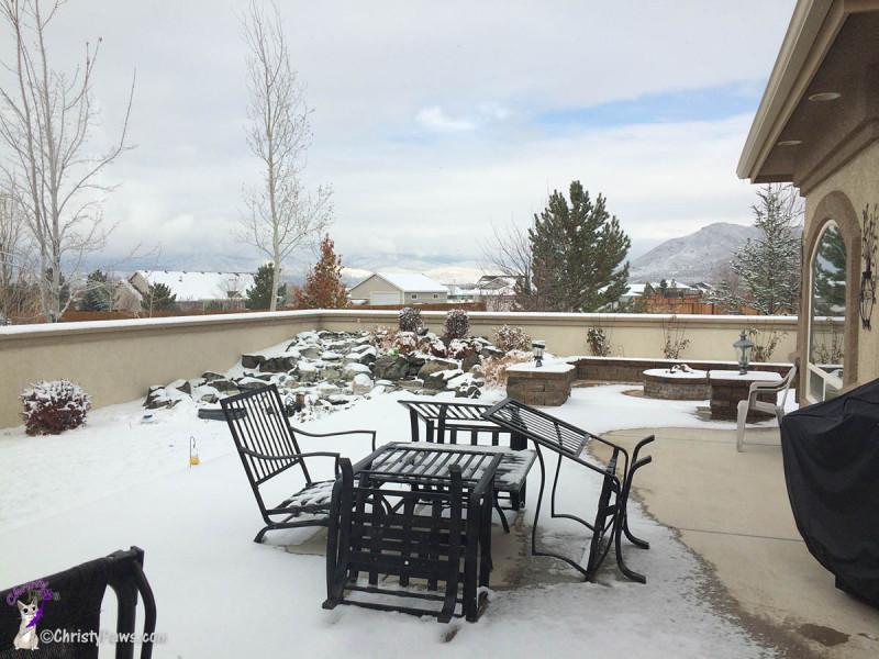 Snow in Minden